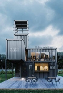 Sophisicated Container House Design Ideas For Comfortable Life 28