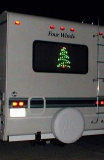 Sophisticated Christmas Rv Decorations Ideas For Valuable Moment 31