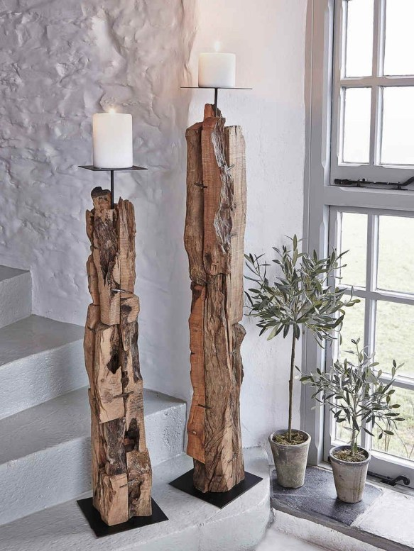 Stunning Large Candle Holders Decoration Ideas For Romantic Homes 29