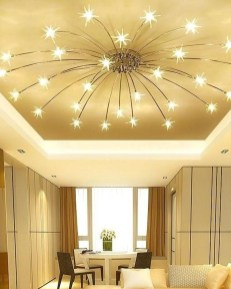 Surprising Living Room Design Ideas With Ceiling Light To Have 12