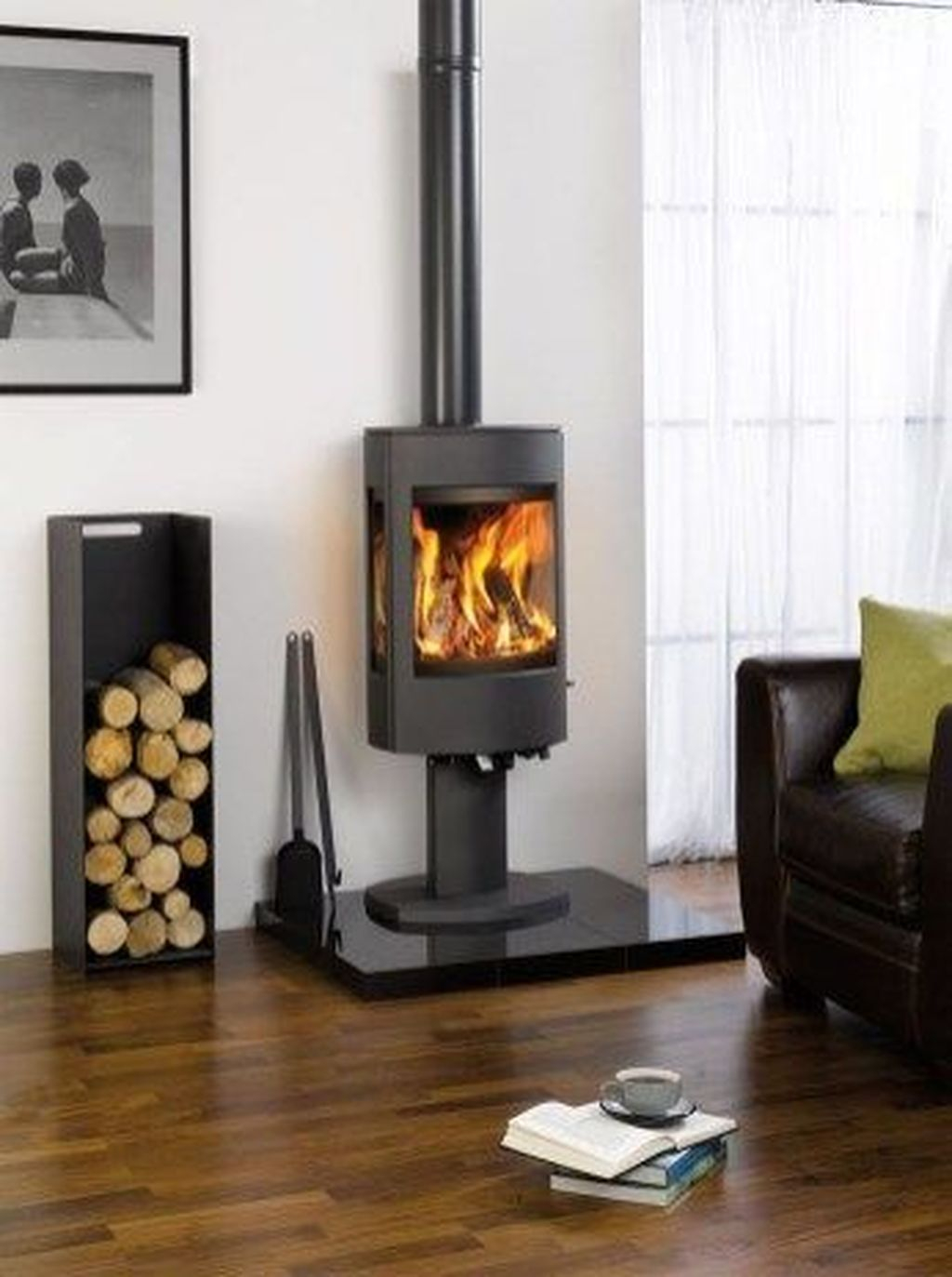 Cool Scandinavian Fireplace Design Ideas To Amaze Your Guests 25