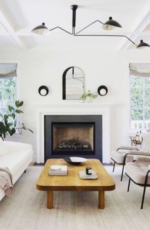 Cool Scandinavian Fireplace Design Ideas To Amaze Your Guests 26