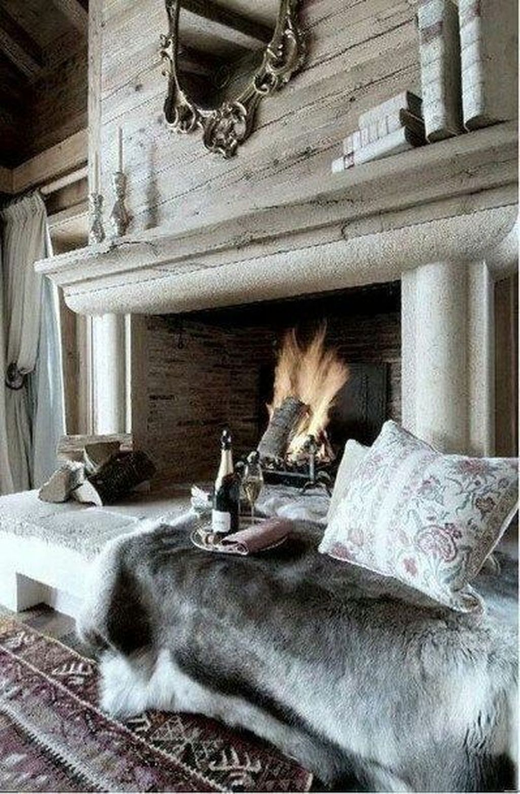 Cool Scandinavian Fireplace Design Ideas To Amaze Your Guests 28