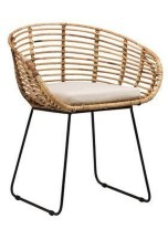 Cute Black Rattan Chairs Designs Ideas To Try This Year 23