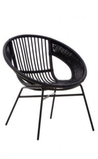 Cute Black Rattan Chairs Designs Ideas To Try This Year 29