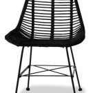Cute Black Rattan Chairs Designs Ideas To Try This Year 30