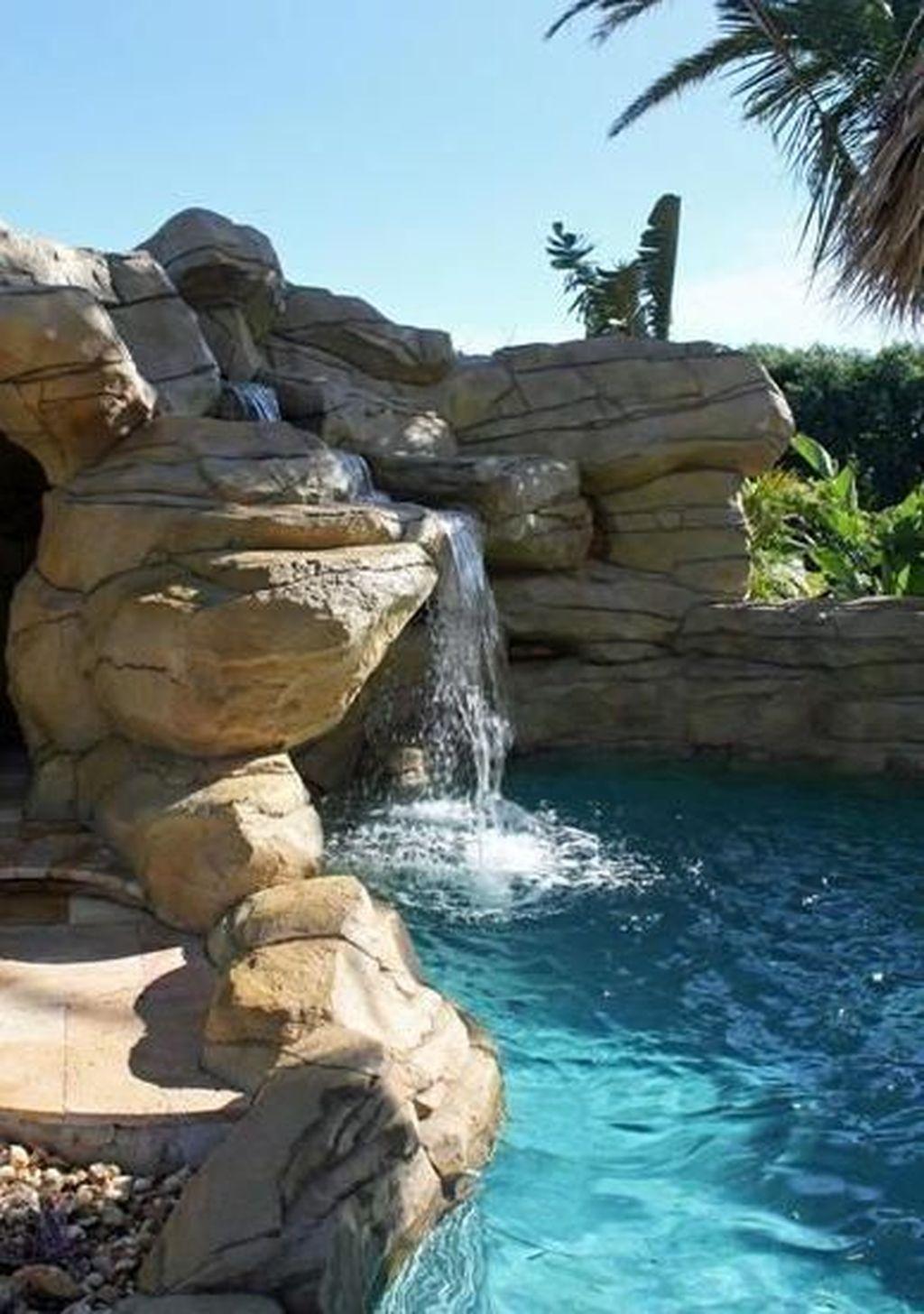 Cute Cabana Swimming Pool Design Ideas That Looks Charming 06