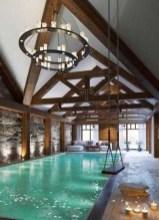 Cute Cabana Swimming Pool Design Ideas That Looks Charming 22