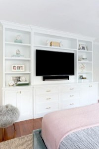 Enjoying Bedroom Design Ideas With Wall Tv To Try 01