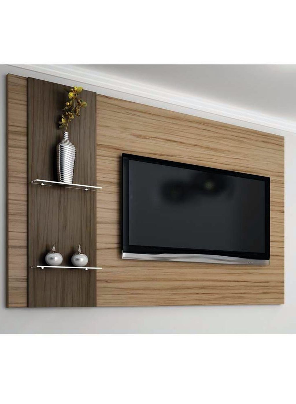Enjoying Bedroom Design Ideas With Wall Tv To Try 06
