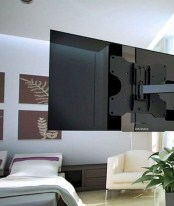 Enjoying Bedroom Design Ideas With Wall Tv To Try 11