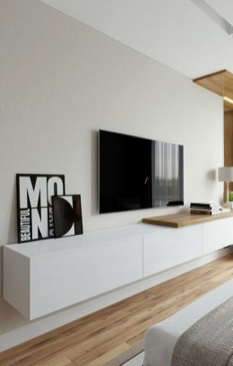 Enjoying Bedroom Design Ideas With Wall Tv To Try 15