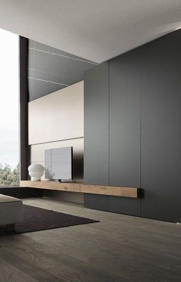 Enjoying Bedroom Design Ideas With Wall Tv To Try 16