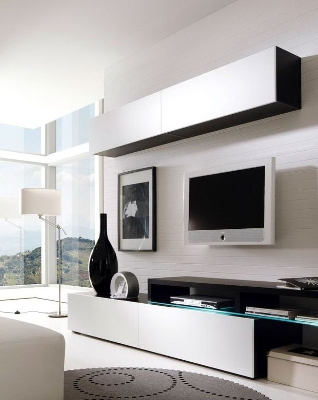 Enjoying Bedroom Design Ideas With Wall Tv To Try 30