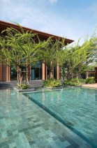 Flawless Small Pool Landscaping Design Ideas For Enchanting Home Outside 37
