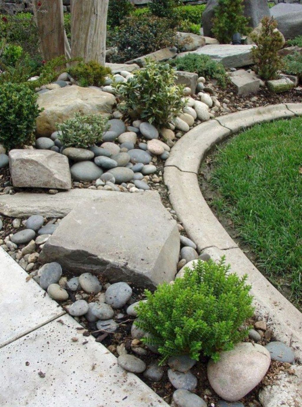 Inspiring Rock Garden Ideas To Make Your Landscaping More Awesome 12