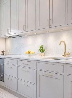 Luxury Grey Kitchen Backsplash Design Ideas For Your Inspiration 04