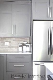 Luxury Grey Kitchen Backsplash Design Ideas For Your Inspiration 05