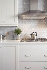 Luxury Grey Kitchen Backsplash Design Ideas For Your Inspiration 14