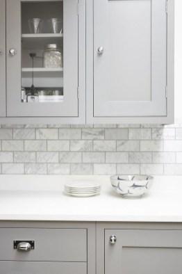 Luxury Grey Kitchen Backsplash Design Ideas For Your Inspiration 26