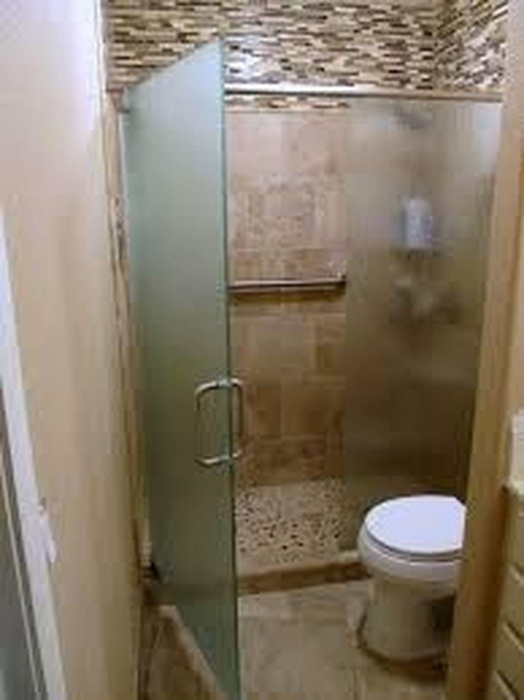 Marvelous Wooden Shower Floor Tiles Designs Ideas For Bathroom Remodel 06