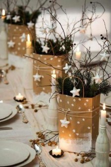 Pretty Winter Table Decoration Ideas For A Romantic Dinner 01