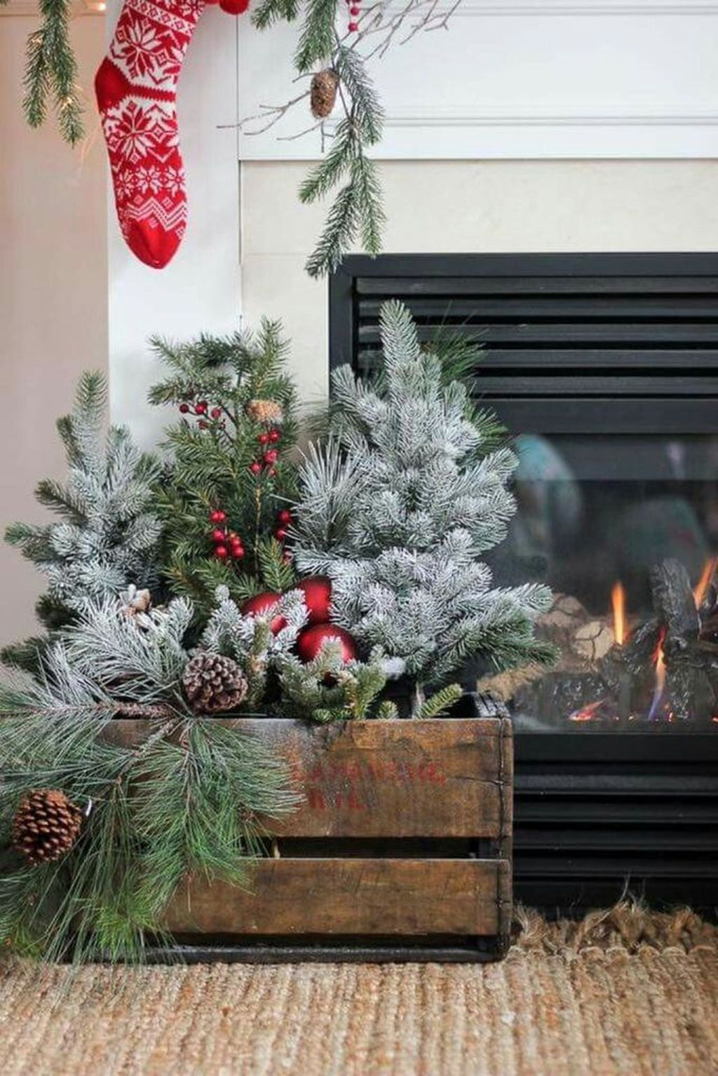 Rustic Winter Decor Ideas For Home To Try Asap 05