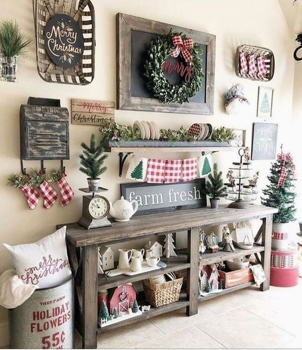 Rustic Winter Decor Ideas For Home To Try Asap 09