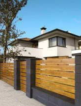 Surpising Fence Design Ideas To Enhance Your Beautiful Yard 04