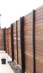 Surpising Fence Design Ideas To Enhance Your Beautiful Yard 20