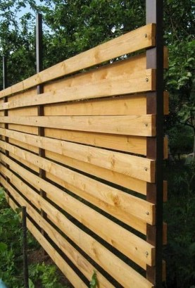 Surpising Fence Design Ideas To Enhance Your Beautiful Yard 24