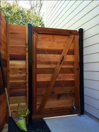 Surpising Fence Design Ideas To Enhance Your Beautiful Yard 26