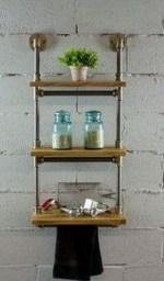 Amazing Bathroom Shelf Ideas With Industrial Farmhouse Towel Bar Tips For Buying It 28