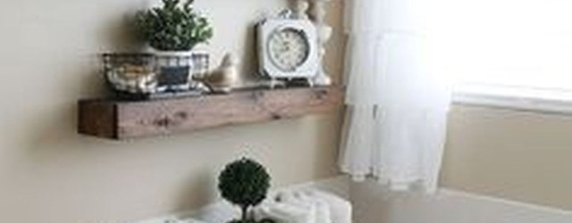 Amazing Bathroom Shelf Ideas With Industrial Farmhouse Towel Bar Tips For Buying It 34