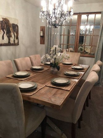Amazing Dining Room Table Decor Ideas To Try Soon 25