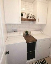 Best Small Functional Laundry Room Decoration Ideas That Looks Cool 11