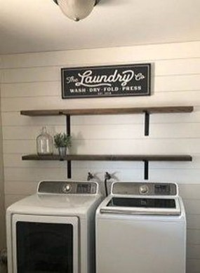 Best Small Functional Laundry Room Decoration Ideas That Looks Cool 24