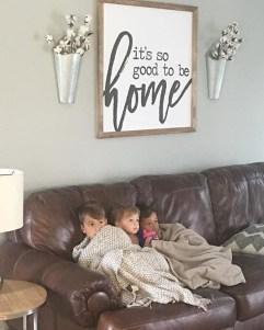 Comfy Farmhouse Living Room Decor Ideas To Copy Asap 02