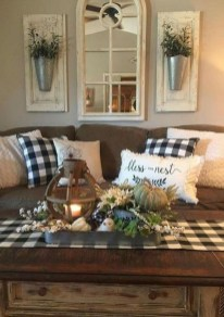 Comfy Farmhouse Living Room Decor Ideas To Copy Asap 05