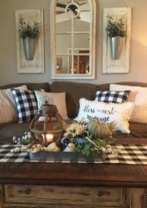 Comfy Farmhouse Living Room Decor Ideas To Copy Asap 05