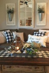 Comfy Farmhouse Living Room Decor Ideas To Copy Asap 23