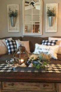 Comfy Farmhouse Living Room Decor Ideas To Copy Asap 23