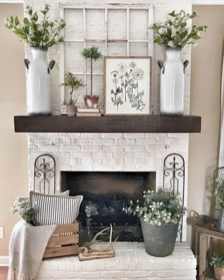 Comfy Farmhouse Living Room Decor Ideas To Copy Asap 26