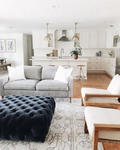 Comfy Farmhouse Living Room Decor Ideas To Copy Asap 37
