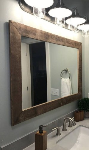 Cool Bathroom Mirror Ideas That You Will Like It 12
