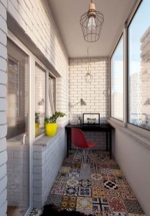 Enchanting Balcony Decoration Ideas For Apartment For A Cleaner Look 13