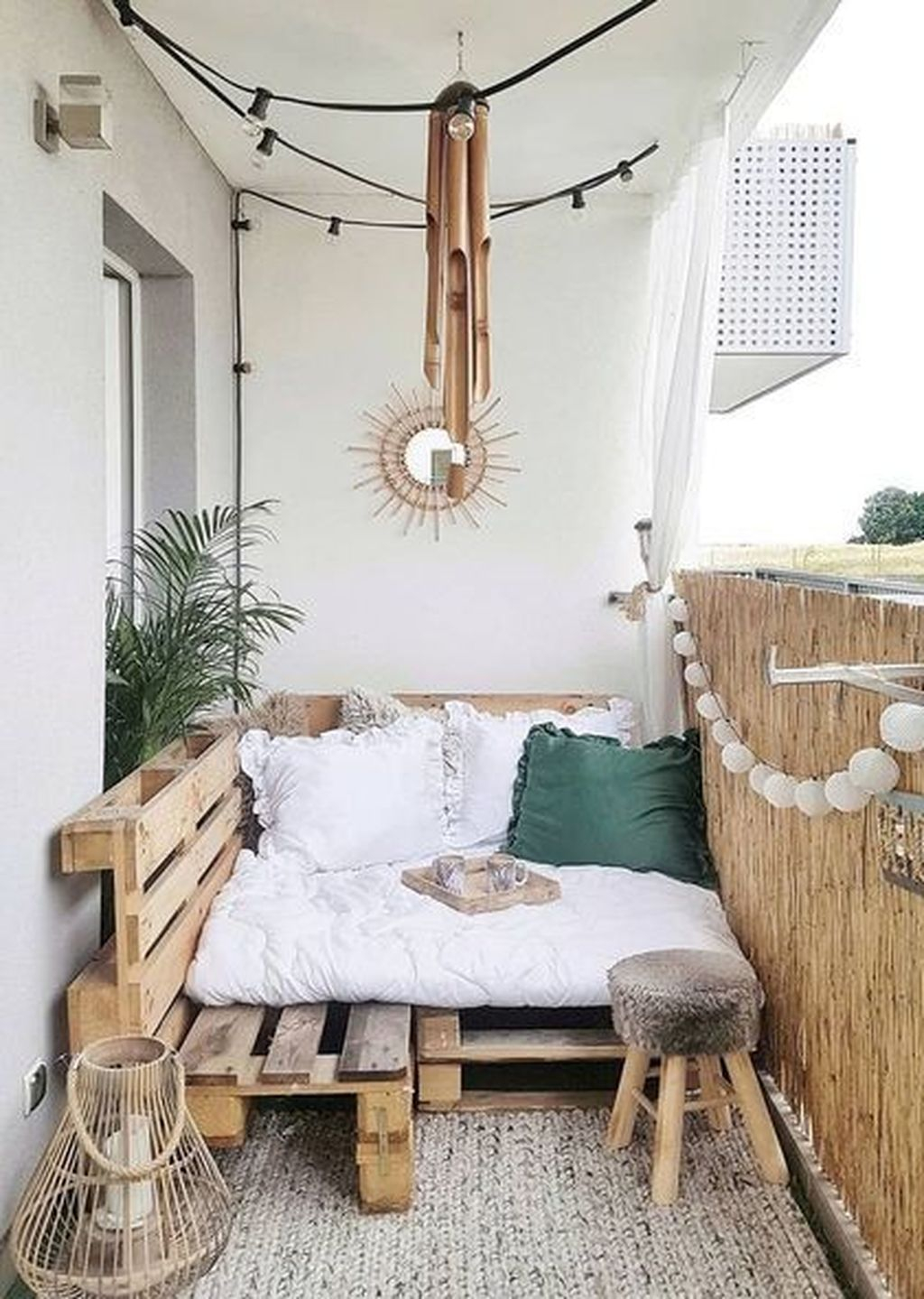 Enchanting Balcony Decoration Ideas For Apartment For A Cleaner Look 23