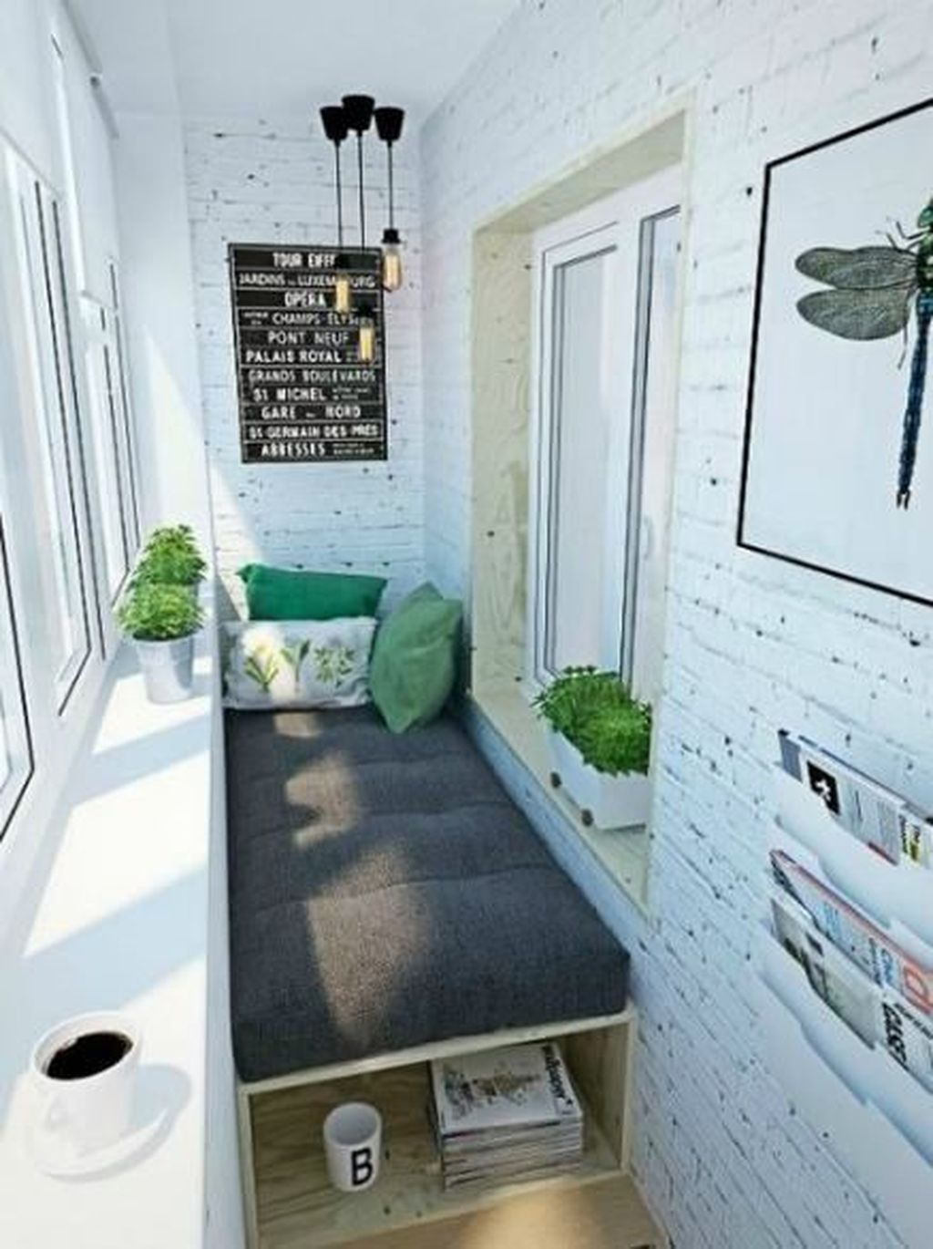 Enchanting Balcony Decoration Ideas For Apartment For A Cleaner Look 25