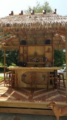 Enjoying Outdoor Bar Design Ideas To Relax Your Family 07