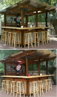 Enjoying Outdoor Bar Design Ideas To Relax Your Family 22